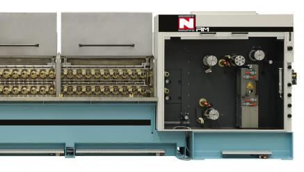Multiwire Drawing Annealing Line