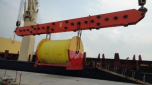 Clipper Projects Transports Wire Rope Reel for Offshore Industry