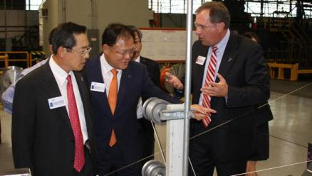 SPSX, the U.S. subsidiary of LS Cable & System, built a power cable plant