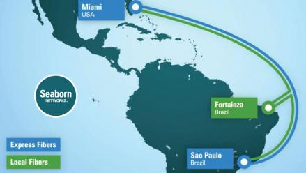 Seaborn Networks' Marine Route Surveys are Underway for US-Brazil Submarine Cable Project