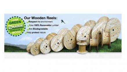 Madem Reels - Now 100% Green Certified Throughout the World!