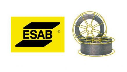 ESAB Stainless Steel Solid Wire Spools Now Distinguished in Yellow