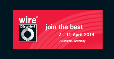 wire 2014, the international wire and cable trade fair in Düsseldorf
