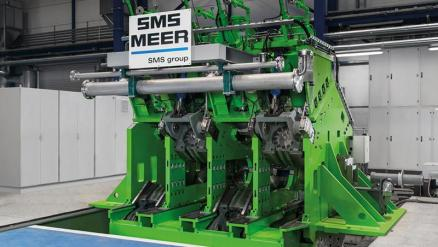 SMS Meer will install a similar 3-roll Precision Sizing Mill (PSM®) for Kardemir.