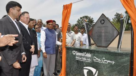 General Cable's New state-of-the-art manufacturing facility in Baddi, Himachal Pradesh, India