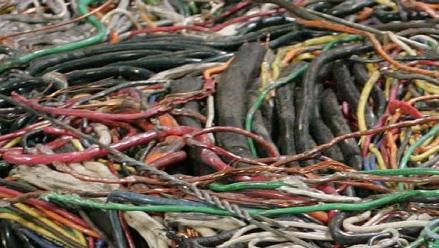The theft of copper piping and wire continues to be on the increase in Alpine Township