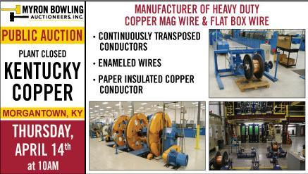 Sale of Heavy Duty Copper Mag Wire and Flat Box Wire Equipment