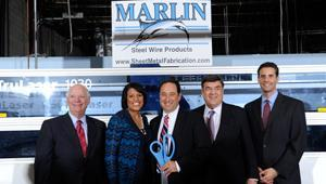 Marlin Steel opened its doors to the public for the official launch of its new, top-of-the-line lase