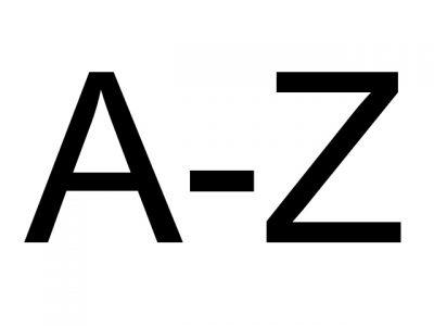 Alphabetical Listing