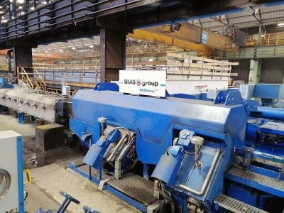Arlenico starts high quality wire rod production with MEERdrive PLUS sizing block supplied by SMS