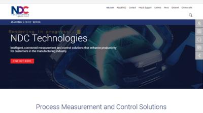 NDC Technologies Announces New Website