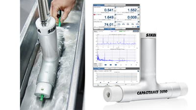 Capacitance measurement with multi-zone technology including FFT and SRL prediction